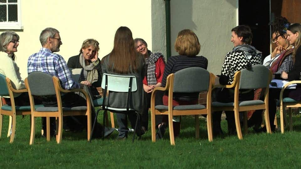 Photo of doulas meeting